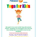 Yoga for Kids at Fitness CF!
