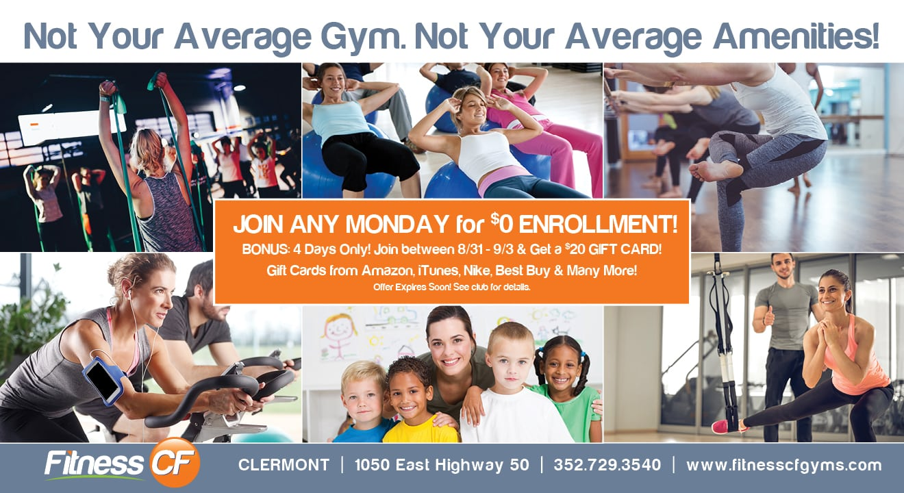fitness cf gym clermont fl enrollment discount